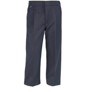 STURDY FIT TROUSERS - BLACK, Junior Trousers