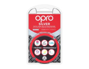 OPRO SILVER LEVERL MOUTHGUARD 7+Adult, Royal Liberty, Gum Shields, Bower Park, Brittons, Campion, Emerson Park, Frances Bardsley, Hall Mead, Hornchurch High