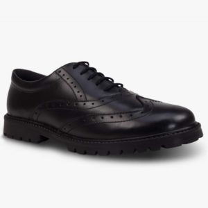 SOPHIA LEATHER GIRLS BROGUE WITH CHUNKY SOLE, Girls Shoes
