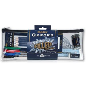 HELIX FILLED PENCIL CASE, Pens & Pencils, Pencil Cases & Rulers