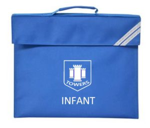 TOWERS INFANT BOOK BAG, Towers
