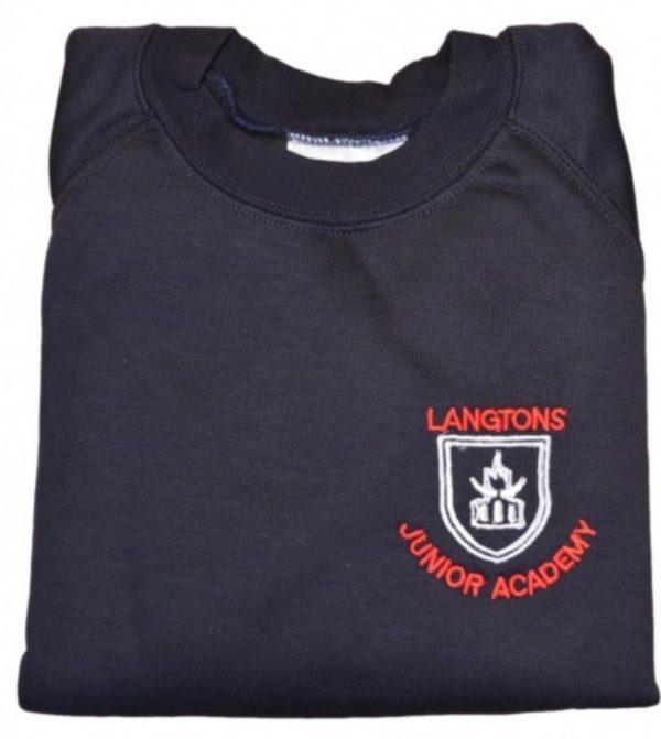 LANGTONS JUNIOR SWEATSHIRT, Langtons Junior