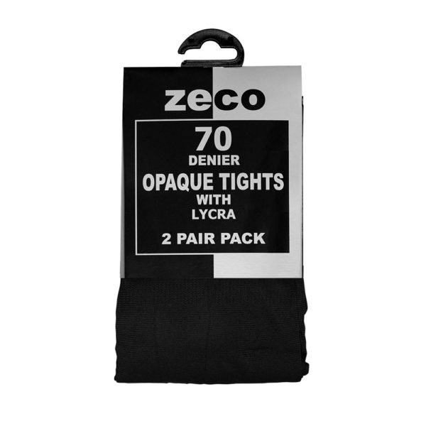 OPAQUE TIGHTS - BLACK, Socks & Tights, Bower Park, Frances Bardsley