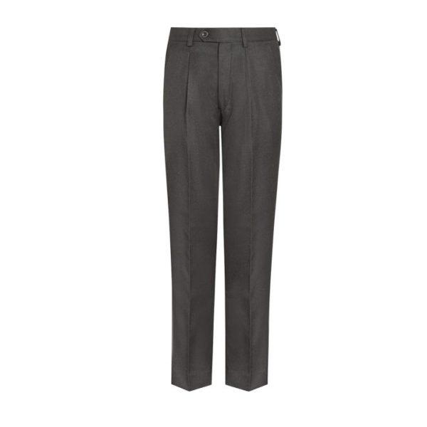 SLIM FIT TROUSERS - CHARCOAL, Senior Trousers, Immanuel