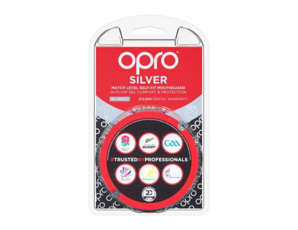 OPRO SILVER LEVERL MOUTHGUARD 7+Adult, Gum Shields, Bower Park, Brittons, Campion, Emerson Park, Frances Bardsley, Hall Mead, Hornchurch High, Royal Liberty